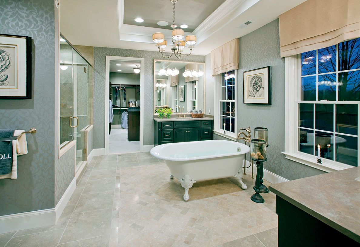 Bathroom featured in the Weatherstone By Toll Brothers in Monmouth County, NJ