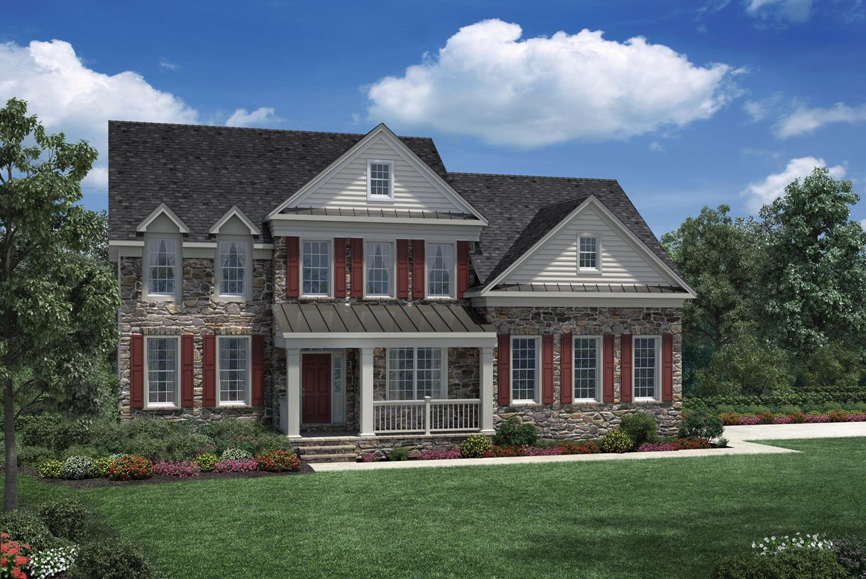 Exterior featured in the Columbia II By Toll Brothers in Monmouth County, NJ