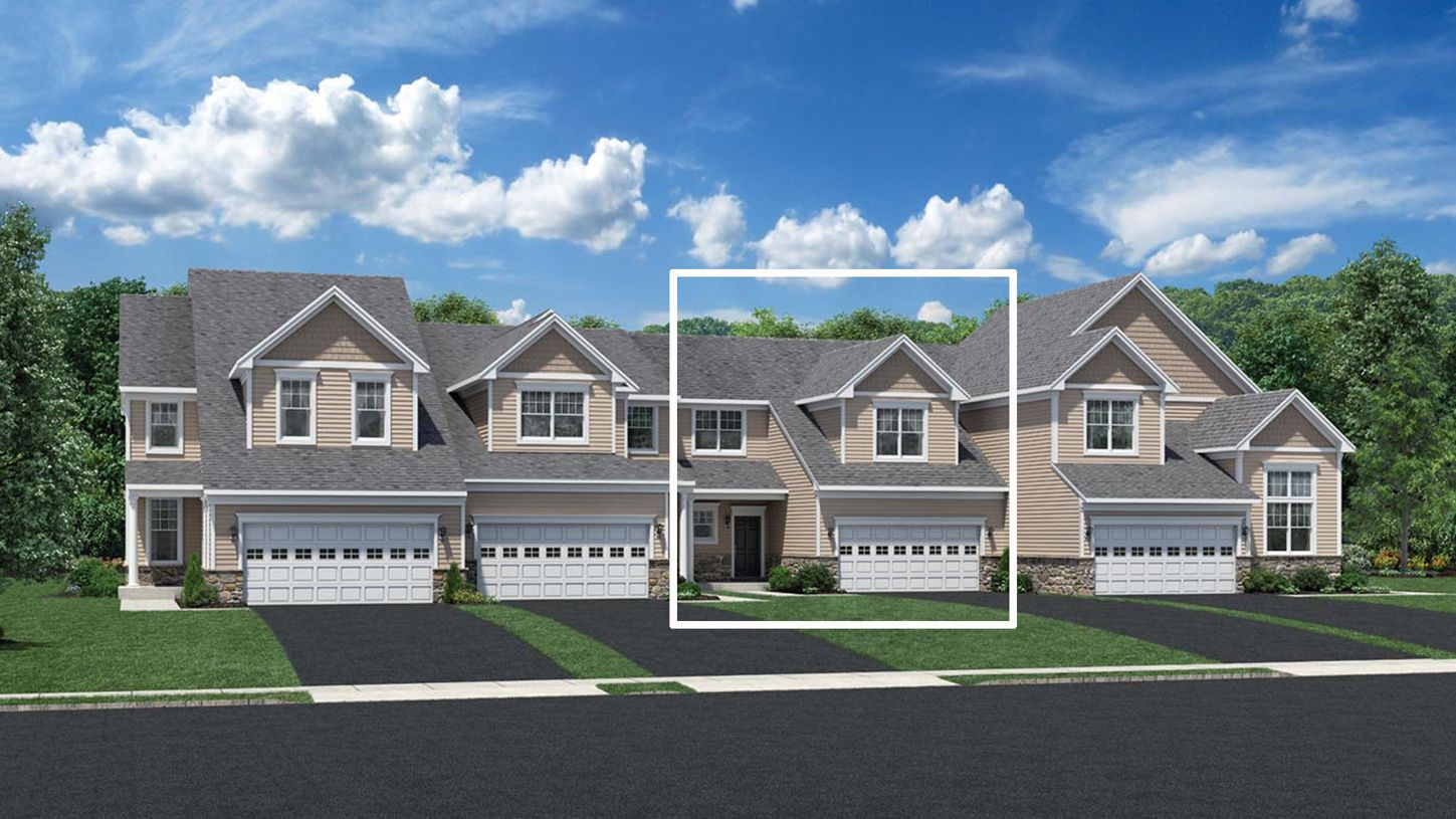 Exterior featured in the Tamarack By Toll Brothers in Waterbury, CT