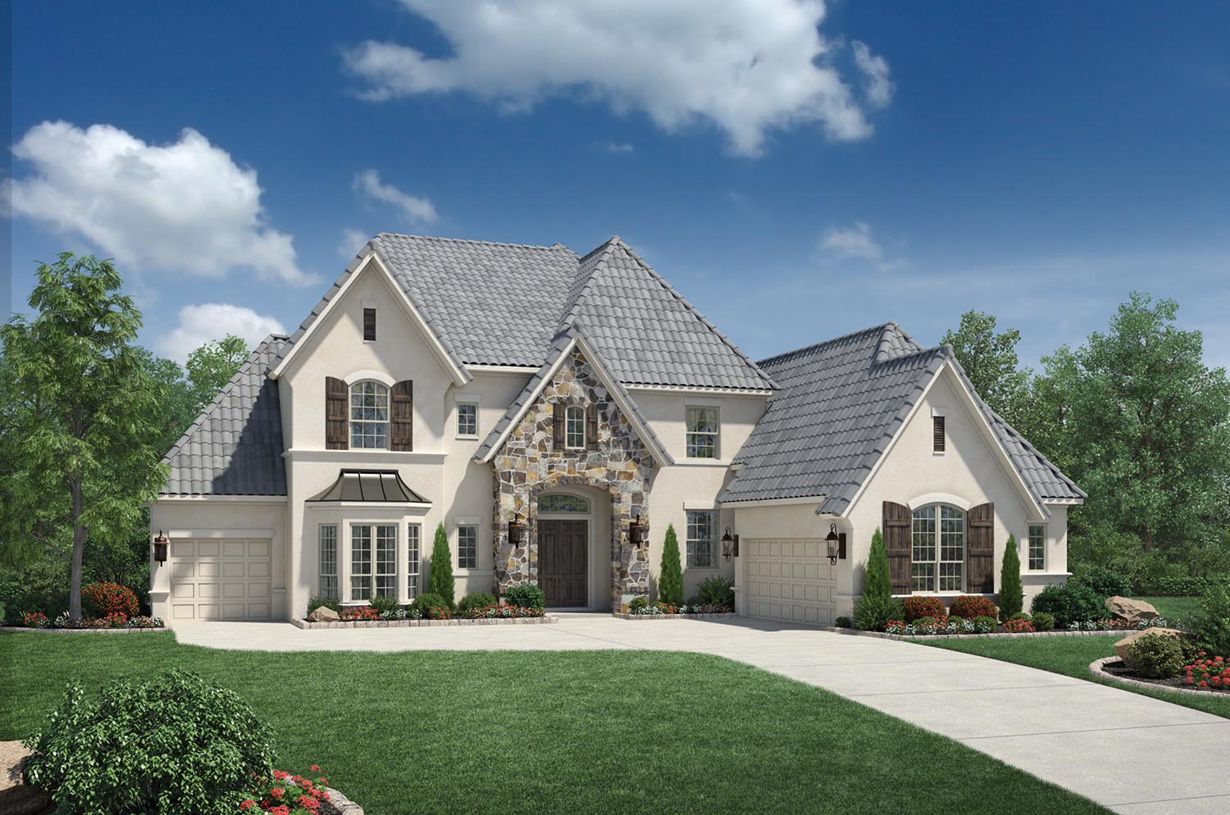 Exterior featured in the Vallagio By Toll Brothers in Houston, TX