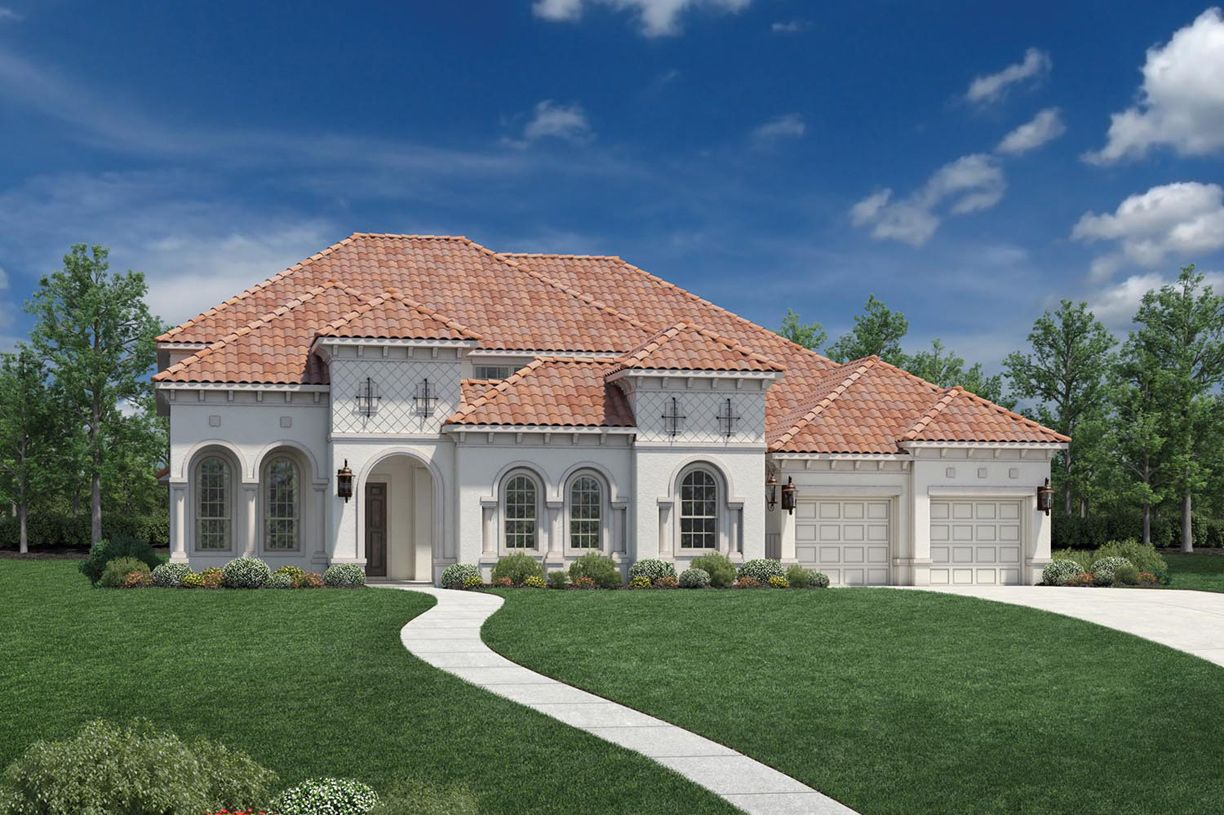 Exterior featured in the Vanguard By Toll Brothers in Dallas, TX
