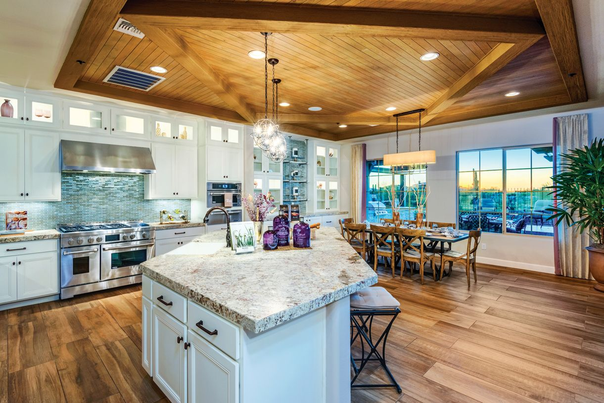 Kitchen featured in the Costellana By Toll Brothers in Phoenix-Mesa, AZ
