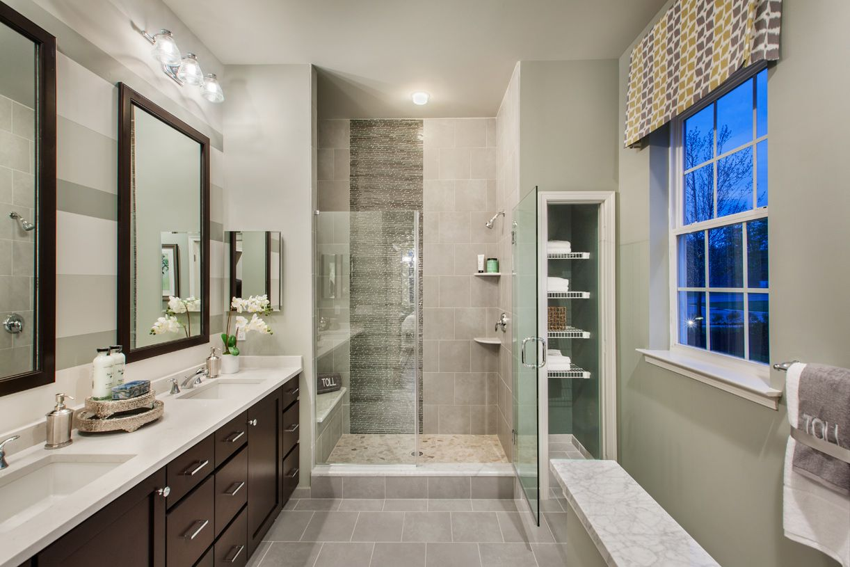 Bathroom featured in the Binghamton By Toll Brothers in Morris County, NJ