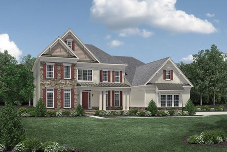 Hollister Plan at Estates At Bamm Hollow in Lincroft  New Jersey by Toll  Brothers. Hollister Plan at Estates At Bamm Hollow in Lincroft  New Jersey