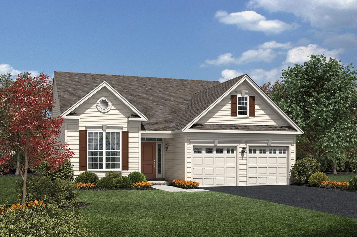 Exterior featured in the Fairhaven By Toll Brothers in Morris County, NJ