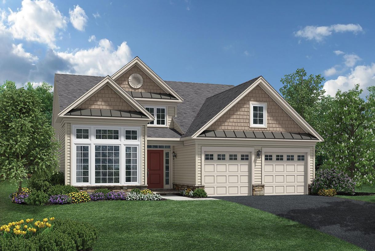 Exterior featured in the Fairhaven By Toll Brothers in Ocean County, NJ