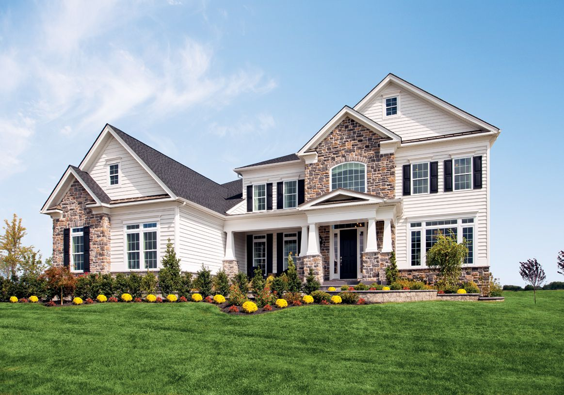 Exterior featured in the Hollister By Toll Brothers in Monmouth County, NJ