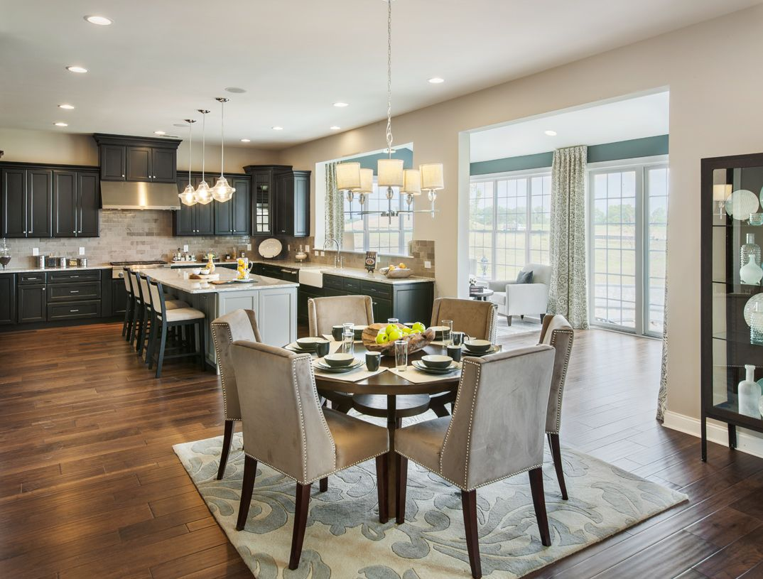 Kitchen featured in the Hollister By Toll Brothers in Monmouth County, NJ