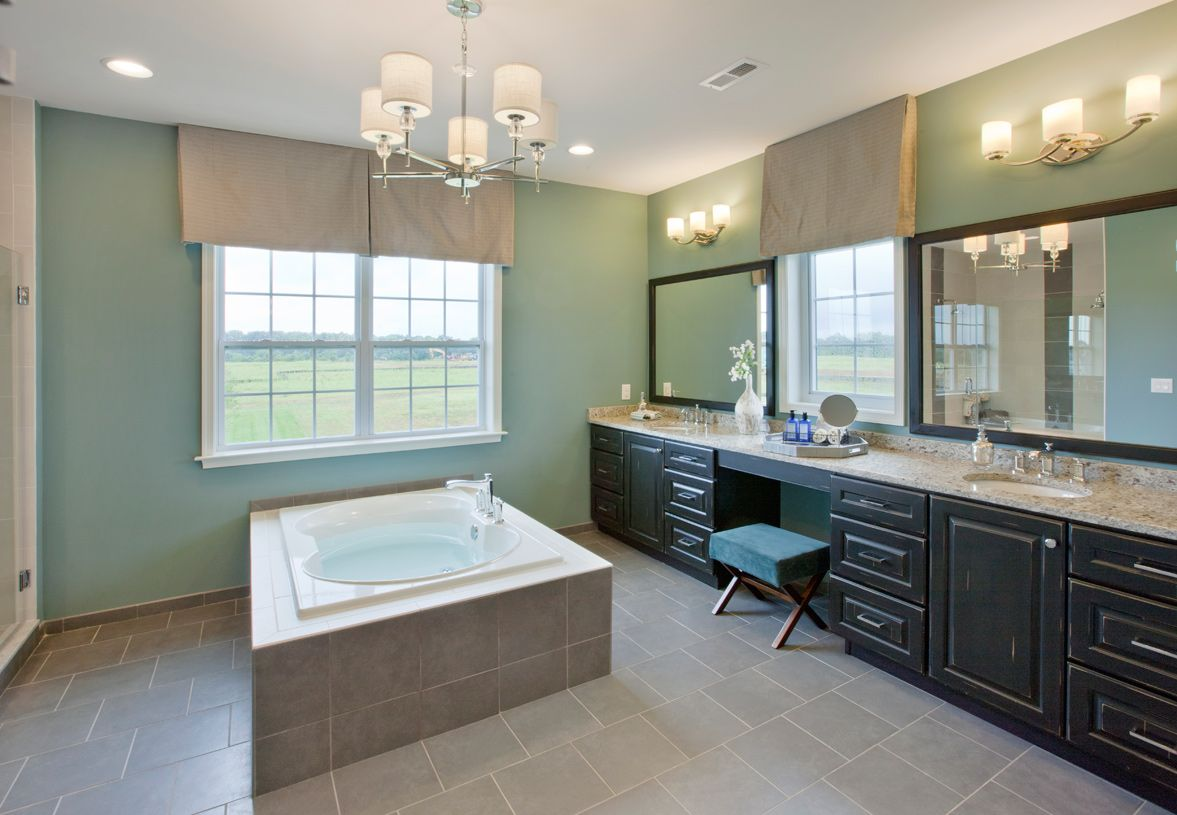 Bathroom featured in the Hollister By Toll Brothers in Monmouth County, NJ