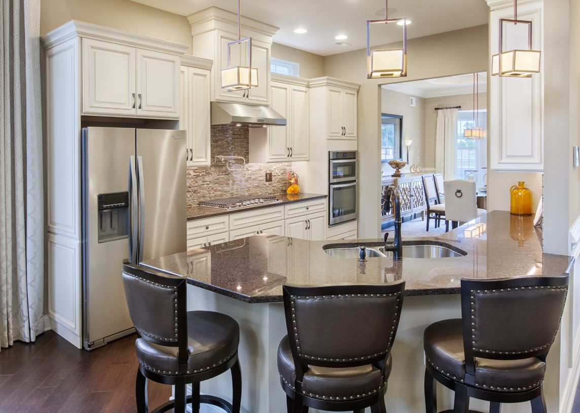 Kitchen featured in the Farmington By Toll Brothers in Monmouth County, NJ