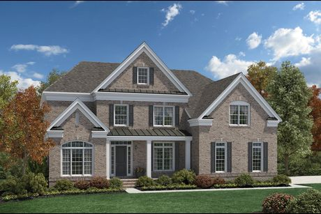 Hudson Plan at Estates At Bamm Hollow in Lincroft  New Jersey by Toll  Brothers. Hudson Plan at Estates At Bamm Hollow in Lincroft  New Jersey by