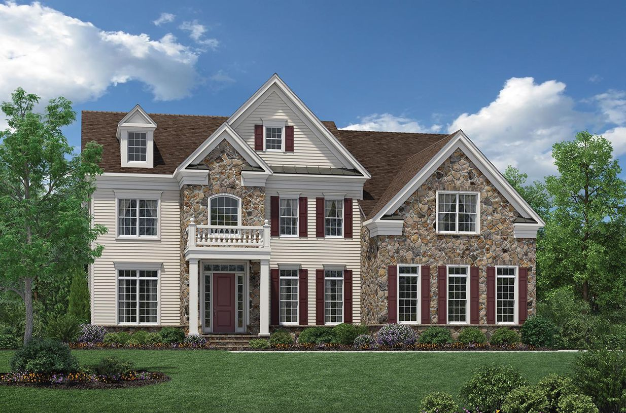 Exterior featured in the Hudson By Toll Brothers in Monmouth County, NJ