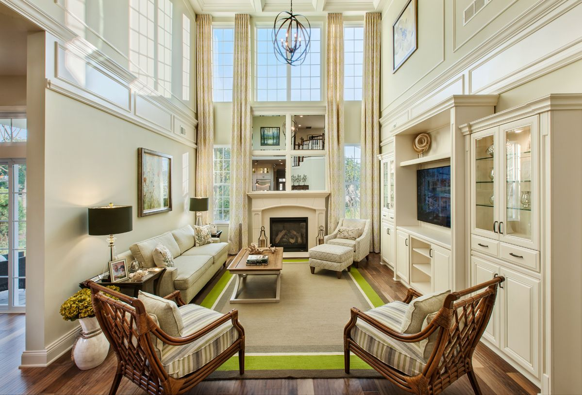 Living Area featured in the Hammond By Toll Brothers in Morris County, NJ