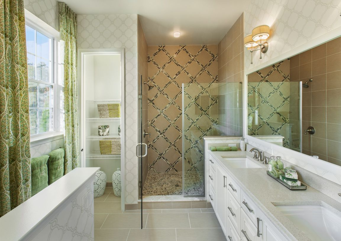 Bathroom featured in the Hammond By Toll Brothers in Monmouth County, NJ