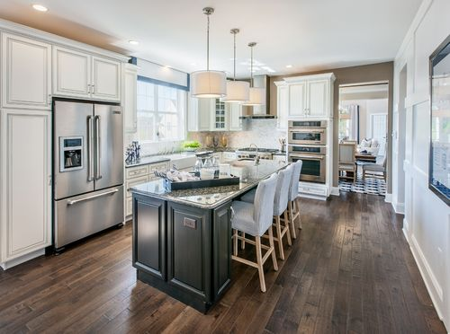 Kitchen-in-Raritan-at-Regency at Readington Carriages-in-Whitehouse Station