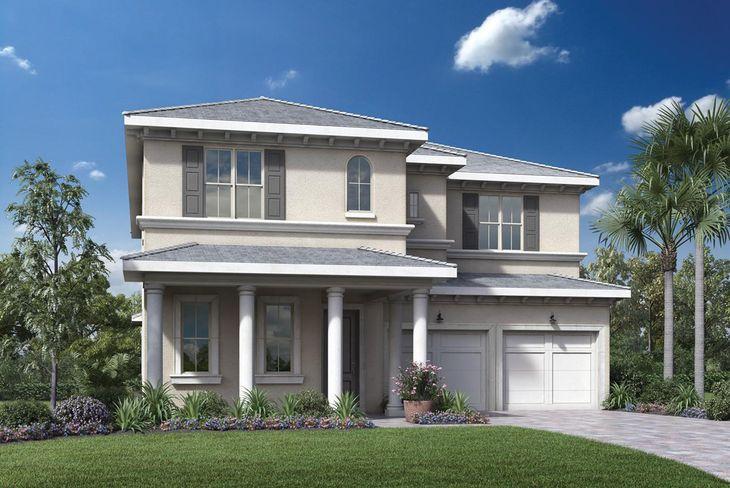 Elevation Image:The Palm Beach