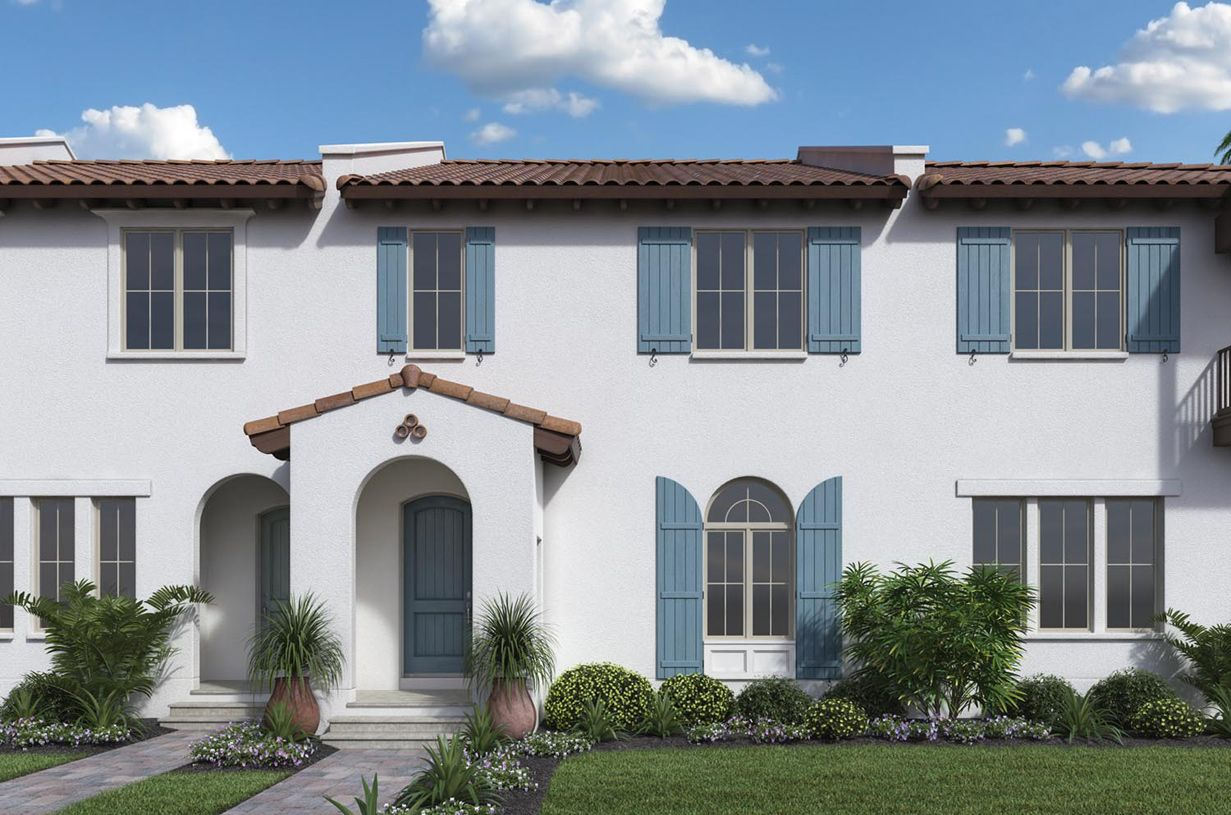 Dante   Lakeshore   Townhomes: Winter Garden, Florida   Toll Brothers