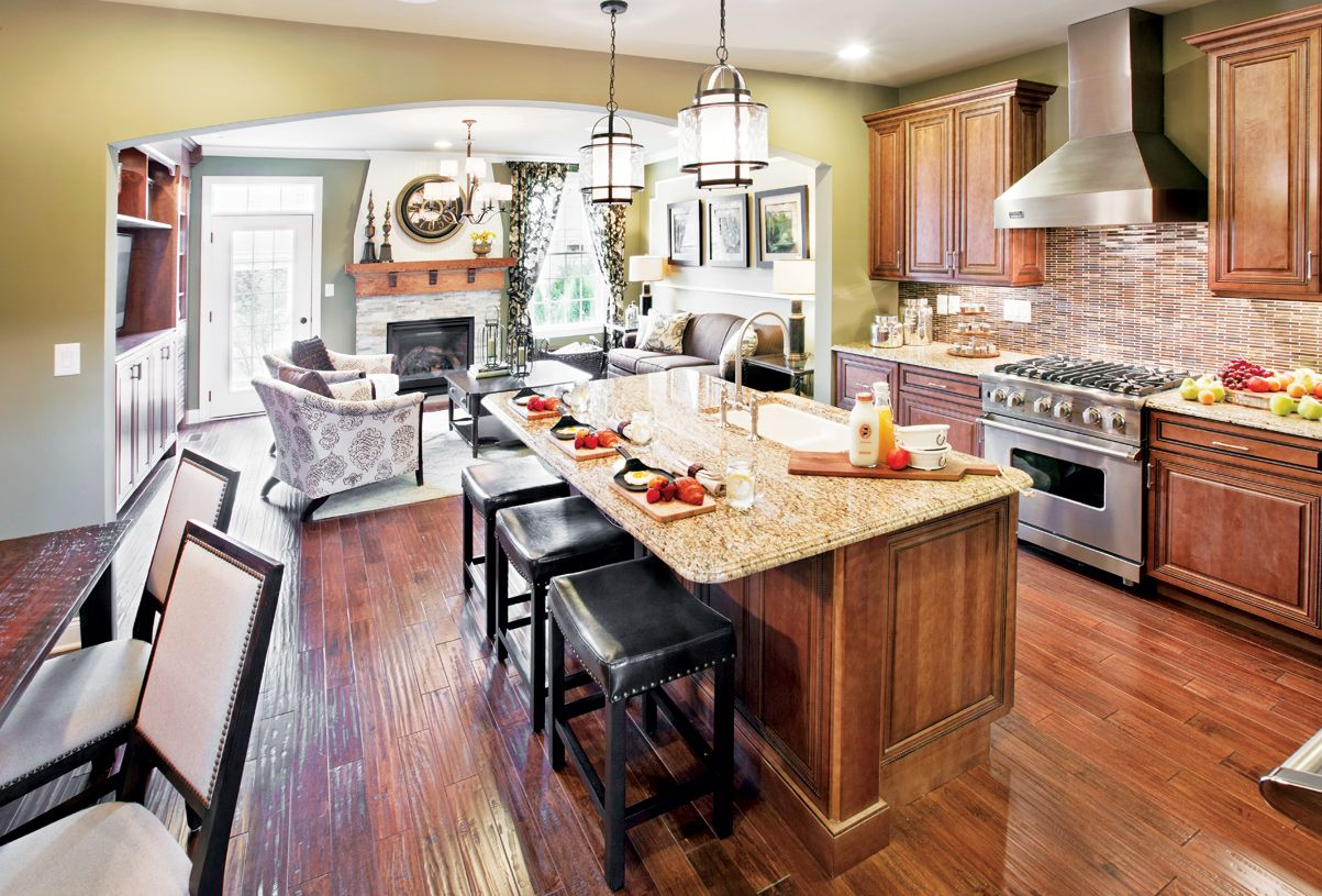 Kitchen featured in the Shannon By Toll Brothers in Monmouth County, NJ