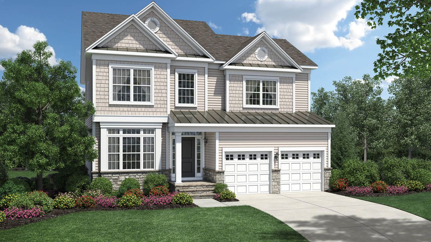 Exterior featured in the Irvine By Toll Brothers in Danbury, CT