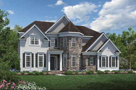 Stallworth Plan. Stallworth Plan at Estates At Bamm Hollow in Lincroft  New Jersey