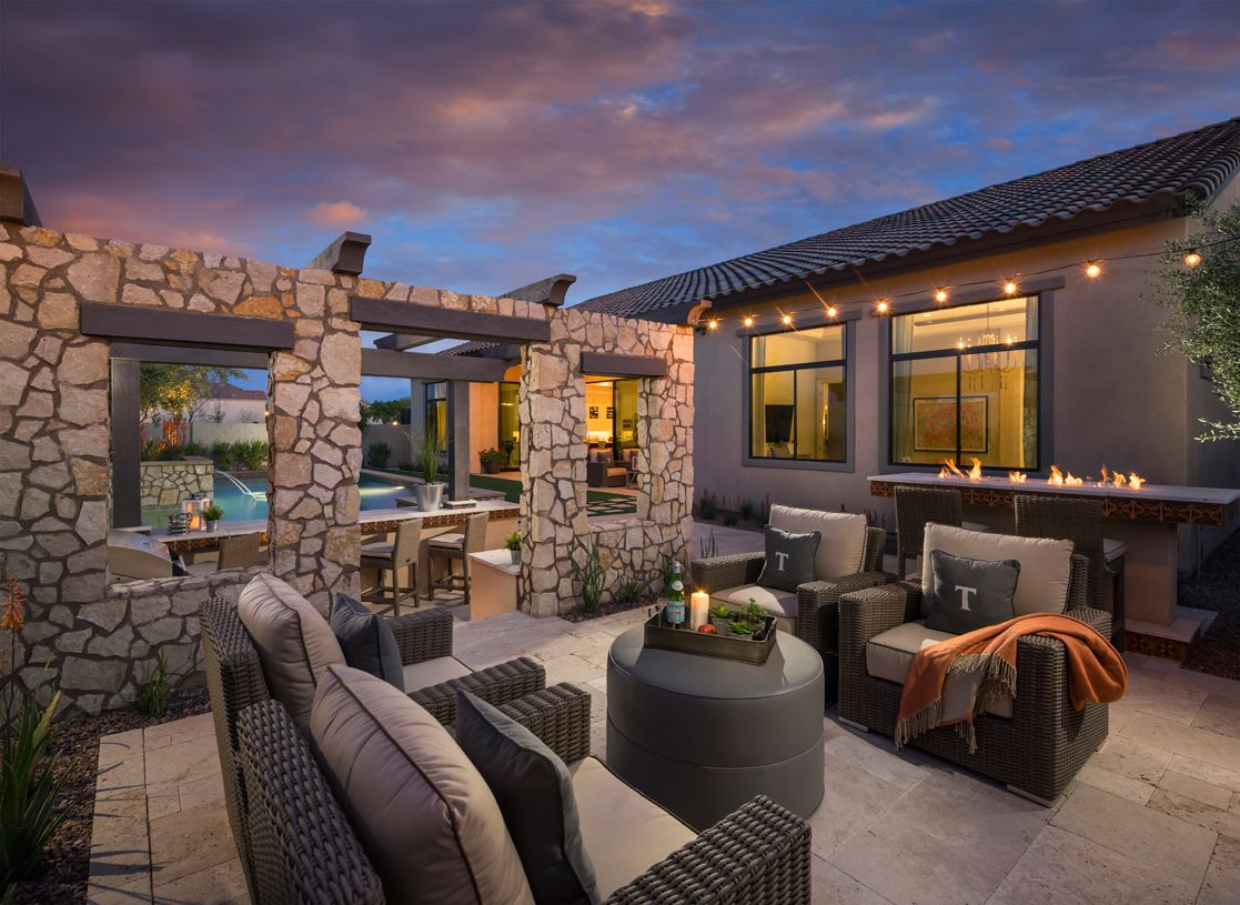 Exterior featured in the Aracena By Toll Brothers in Phoenix-Mesa, AZ