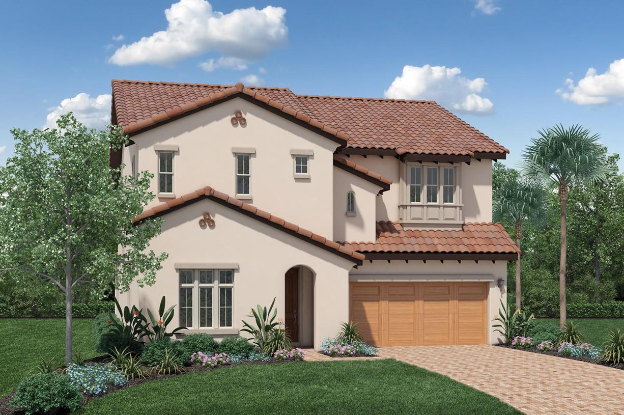 Exterior featured in the Robellini By Toll Brothers in Orlando, FL