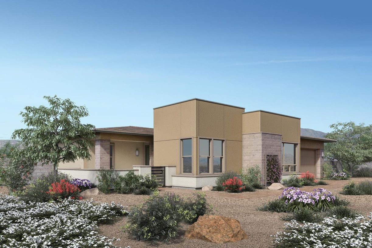 Exterior featured in the Bristol Bay By Toll Brothers in Las Vegas, NV