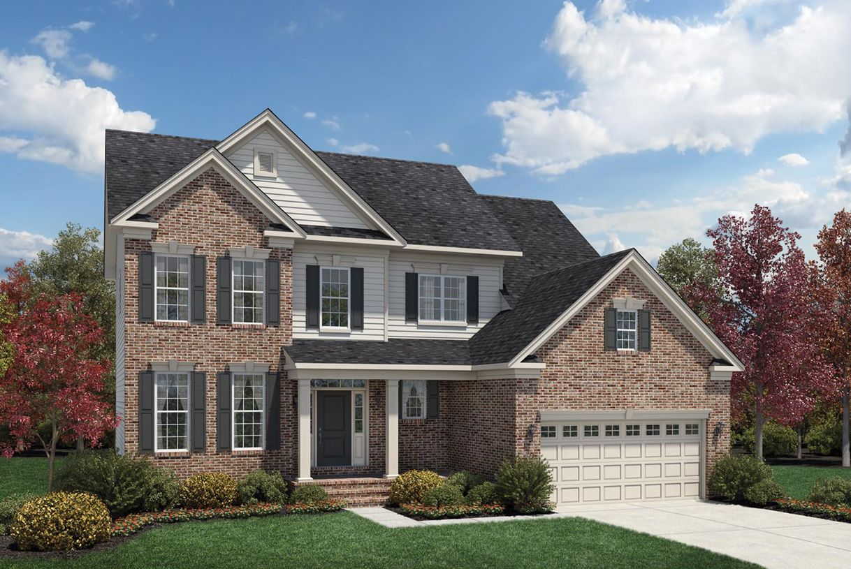 Exterior featured in the Amherst By Toll Brothers in Detroit, MI