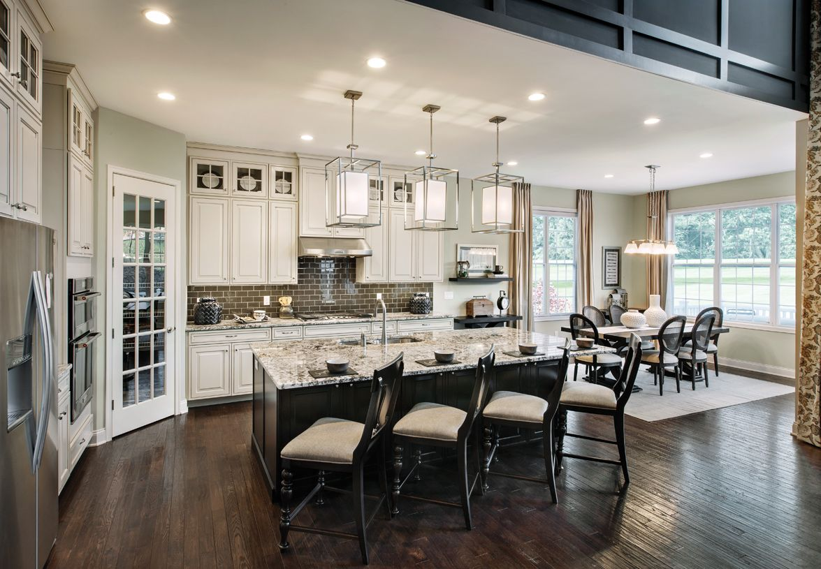 Kitchen featured in the Baymont By Toll Brothers in Detroit, MI