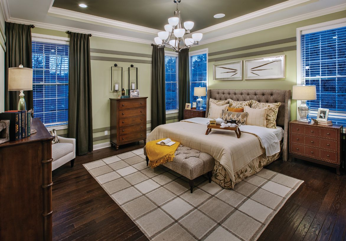 Bedroom featured in the Baymont By Toll Brothers in Detroit, MI