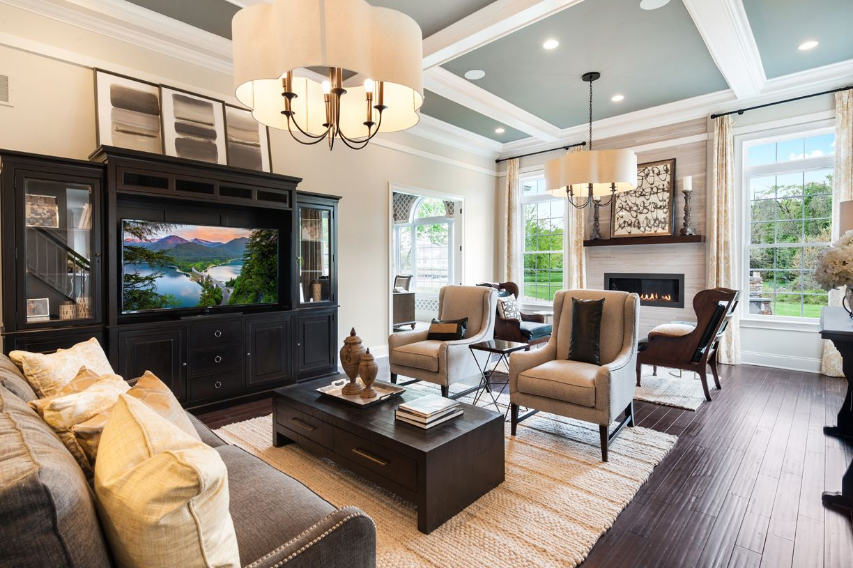 Living Area featured in the Henley By Toll Brothers in Monmouth County, NJ