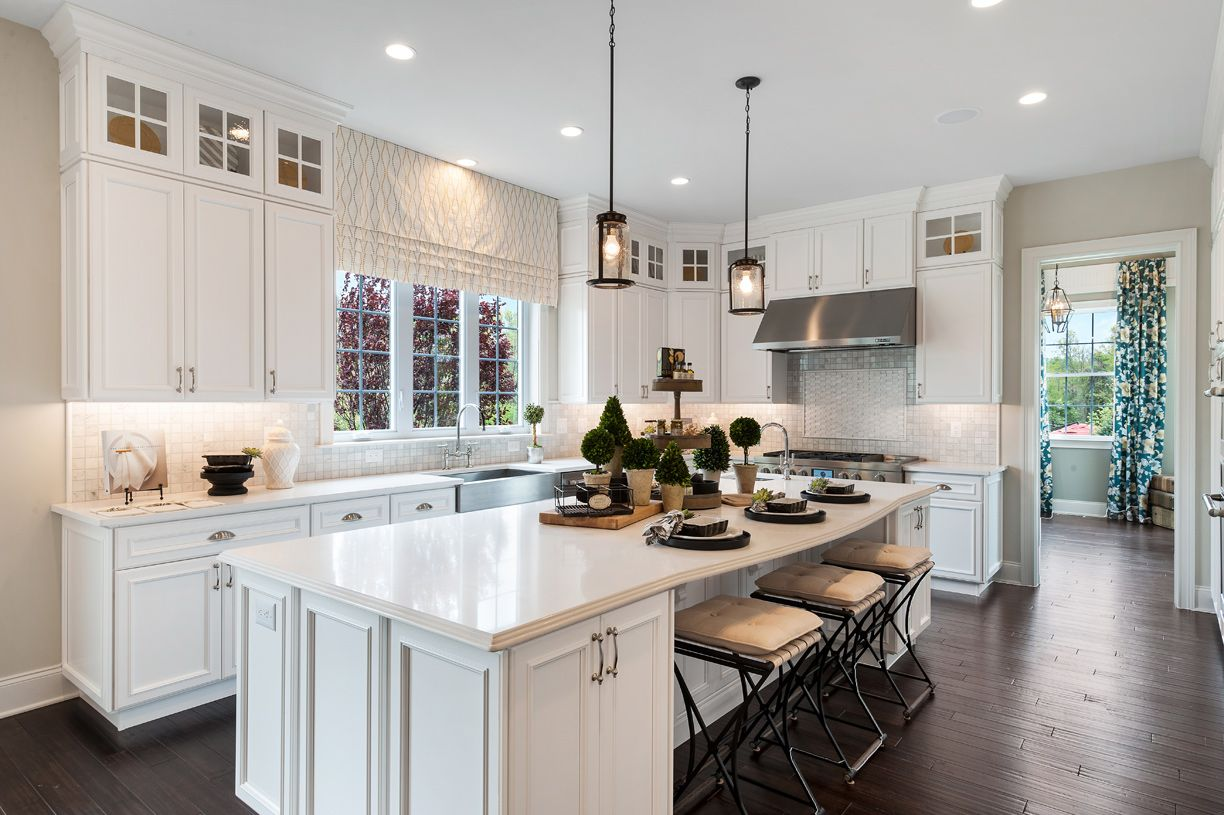 Kitchen featured in the Henley By Toll Brothers in Monmouth County, NJ