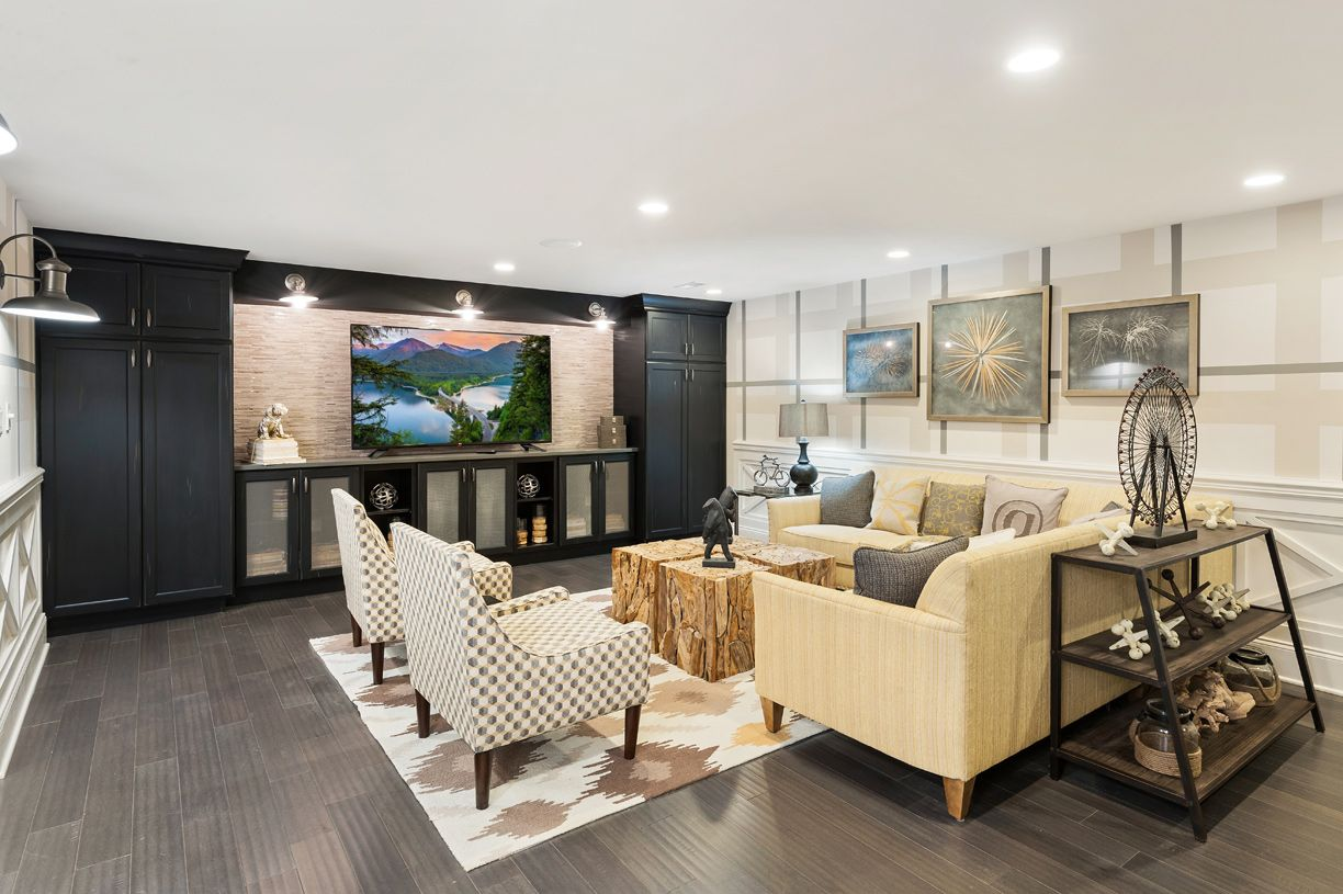 Living Area featured in the Hudson By Toll Brothers in Monmouth County, NJ