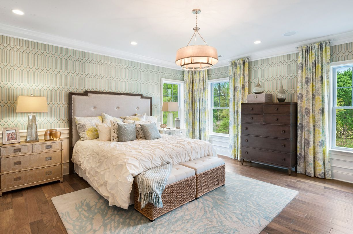 Bedroom featured in the Hudson By Toll Brothers in Monmouth County, NJ