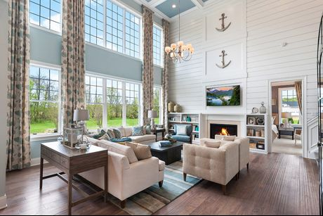 Community Image. Estates At Bamm Hollow in Lincroft  NJ  New Homes   Floor Plans by