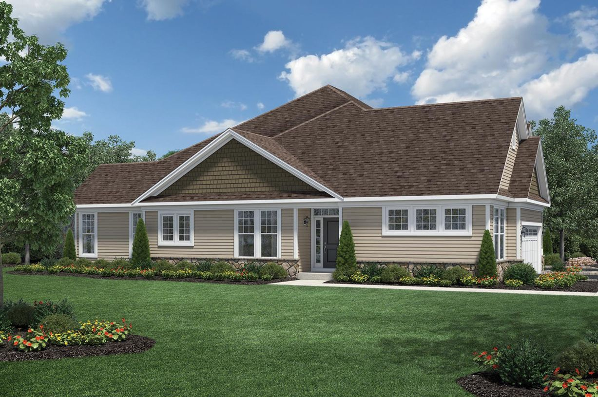 Exterior featured in the Bransford By Toll Brothers in Danbury, CT