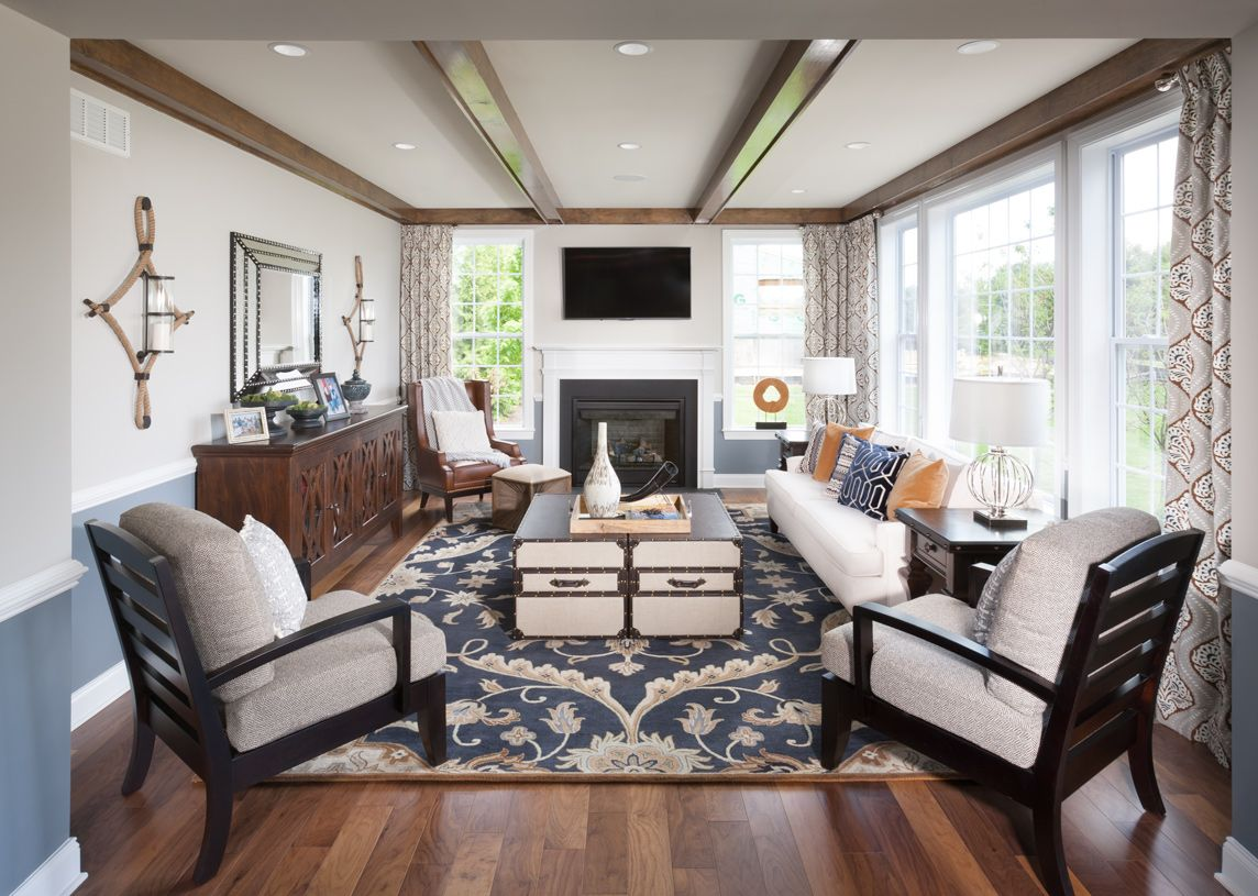 Living Area featured in the Woodstock By Toll Brothers in Baltimore, MD