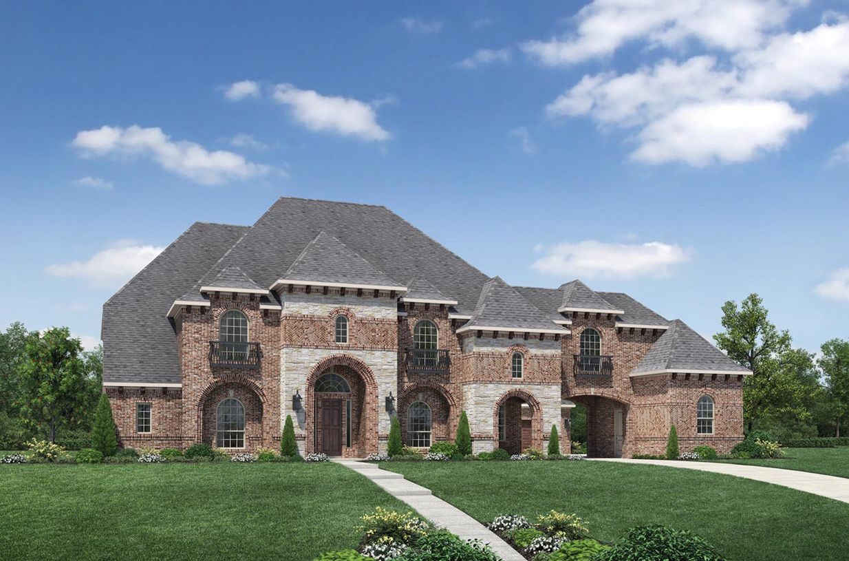 Exterior featured in the Monte Verde By Toll Brothers in Dallas, TX