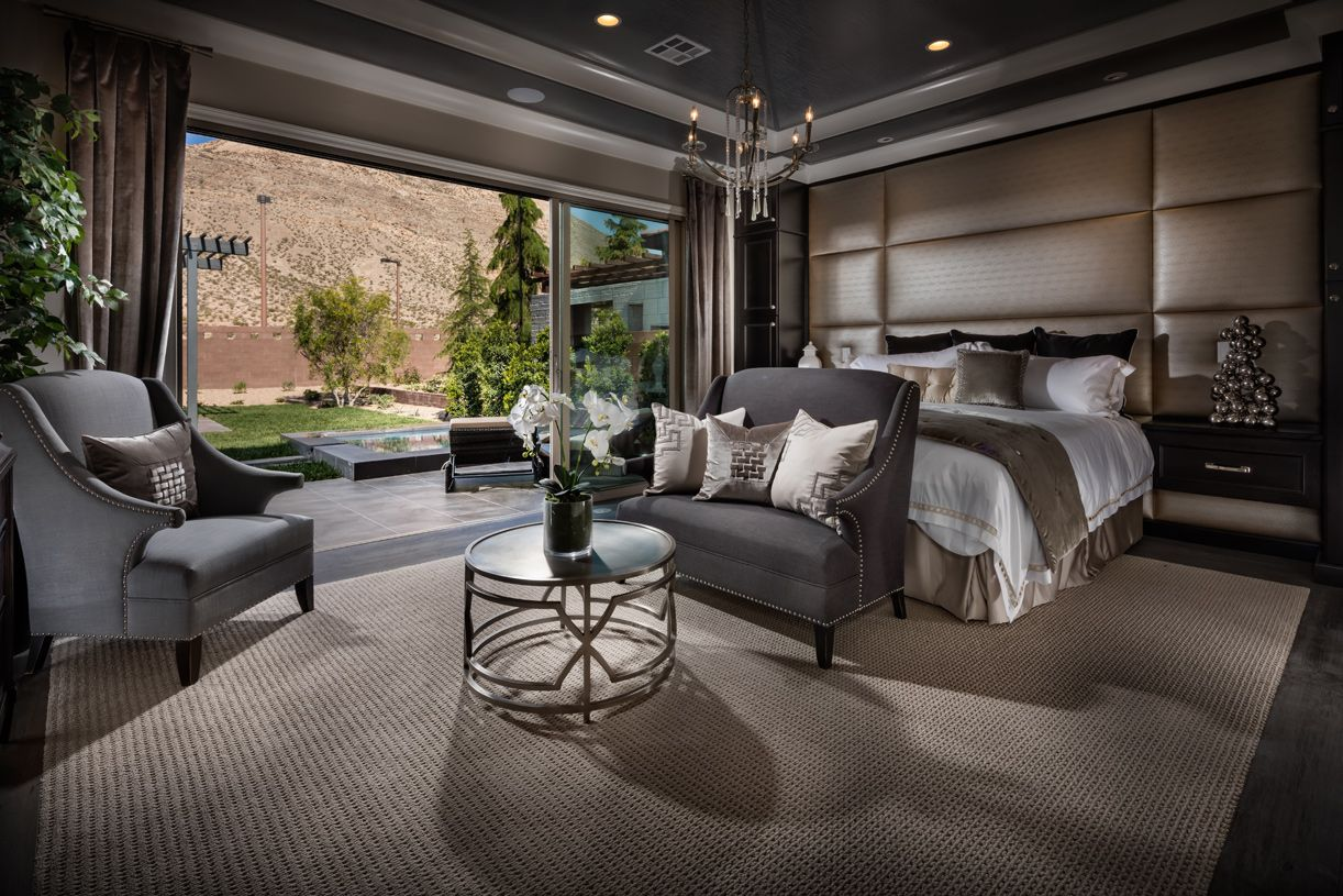 Bedroom featured in the Sundance By Toll Brothers in Las Vegas, NV