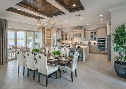 Kitchen-in-Maranello-at-Lakeshore - Estates Collection-in-Winter Garden