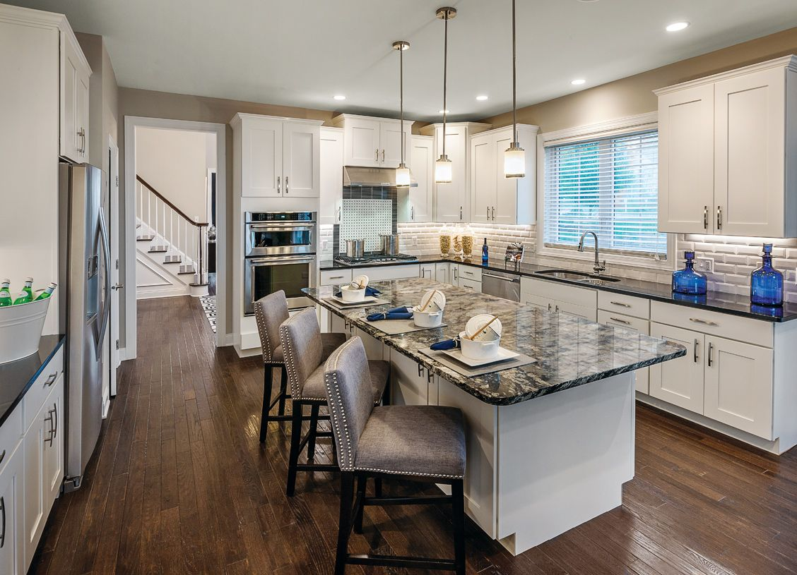 Kitchen featured in the Brandeis By Toll Brothers in Danbury, CT