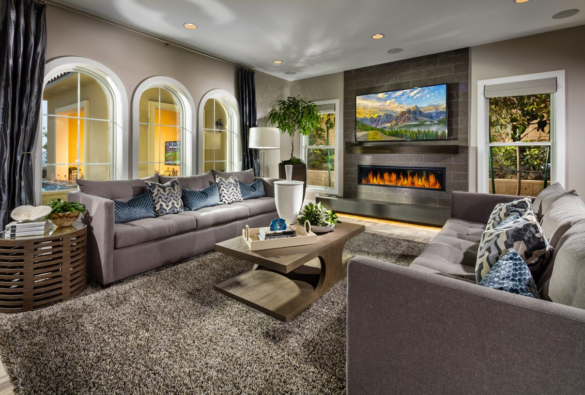 Greatroom-and-Dining-in-Santee-at-Westcliffe at Porter Ranch - Palisades Collection-in-Porter Ranch