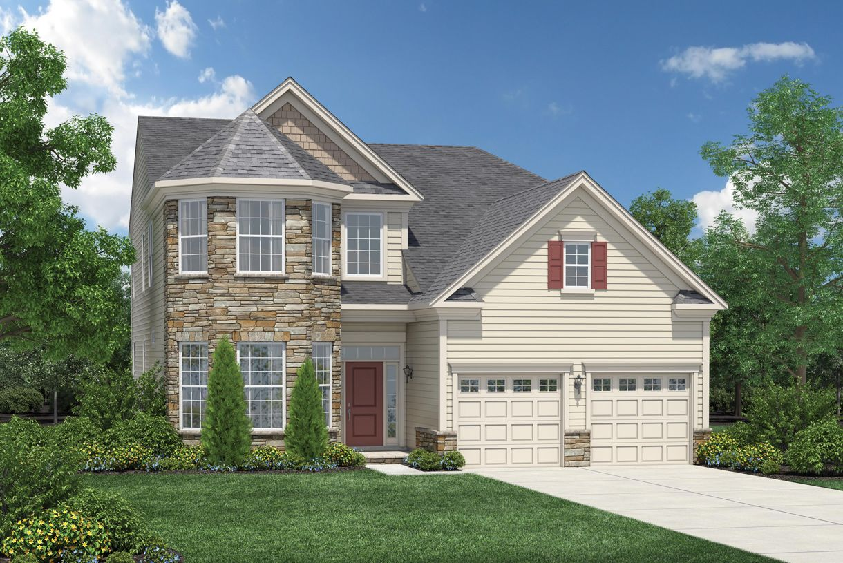 Exterior featured in the Farmington By Toll Brothers in Morris County, NJ