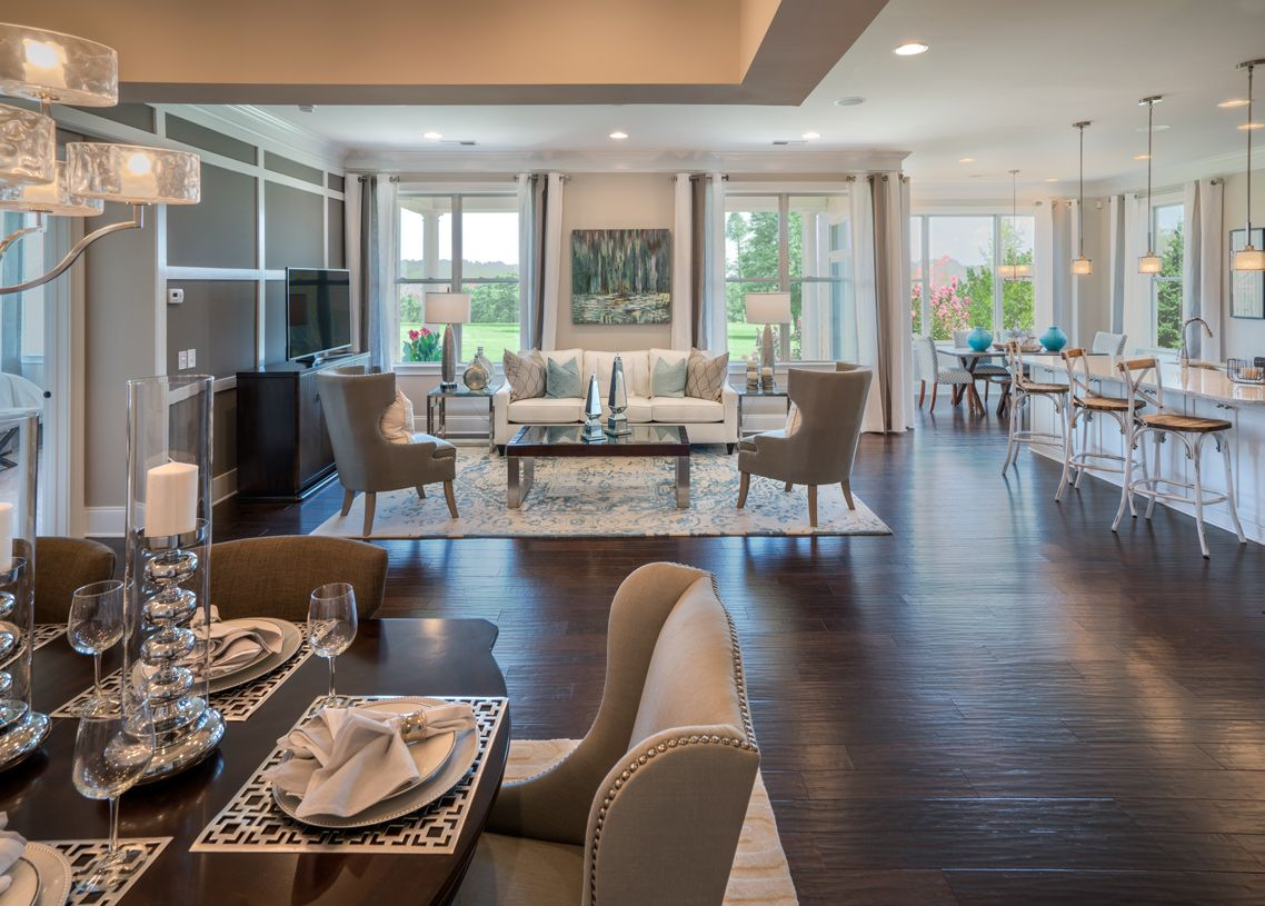 Living Area featured in the Bowan By Toll Brothers in Charlotte, NC