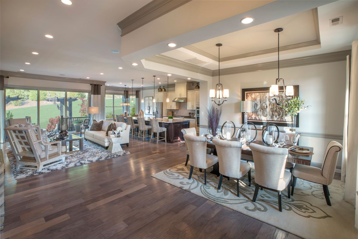 Living Area featured in the Waverly By Toll Brothers in Charlotte, NC