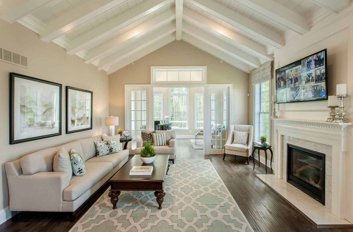 Living Area featured in the Bryn Athyn By Toll Brothers in Boston, MA