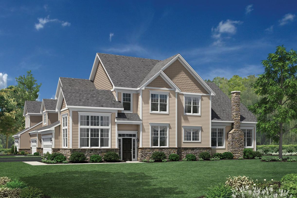 Exterior featured in the Bucknell II By Toll Brothers in Waterbury, CT