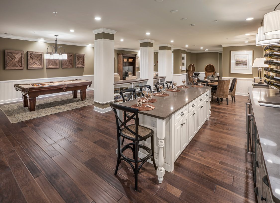 Living Area featured in the Brandeis By Toll Brothers in Philadelphia, PA