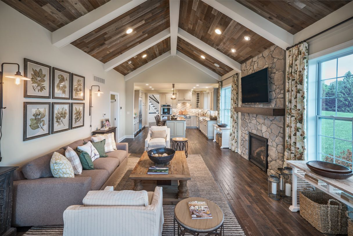 Greatroom-and-Dining-in-Brandeis-at-White Springs at Providence-in-Collegeville