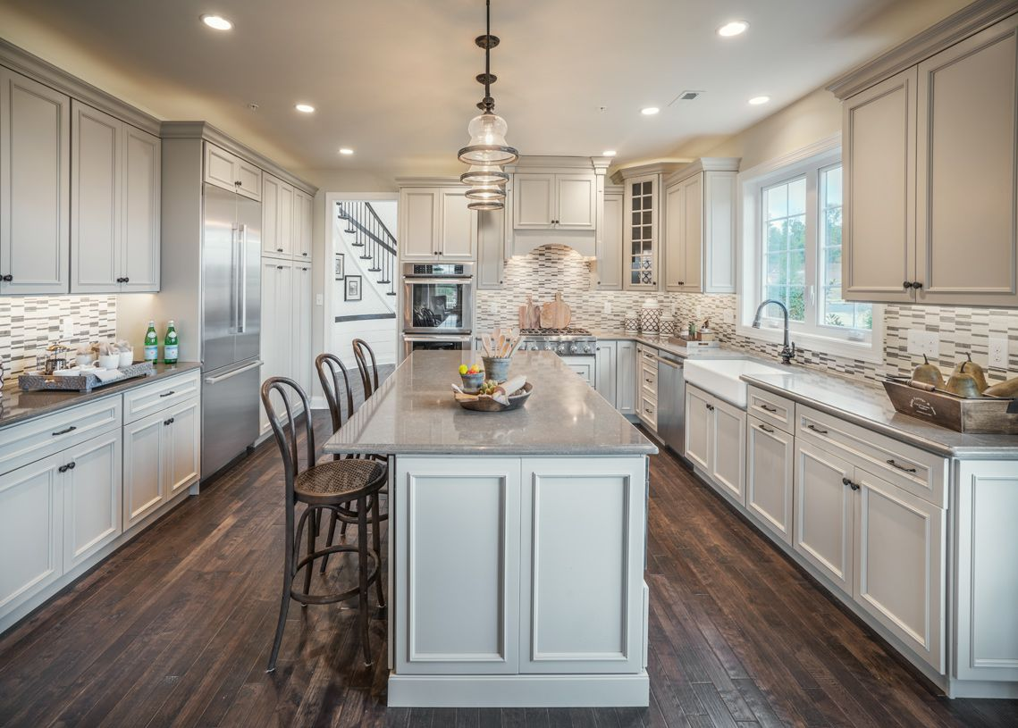 Kitchen featured in the Brandeis By Toll Brothers in Philadelphia, PA